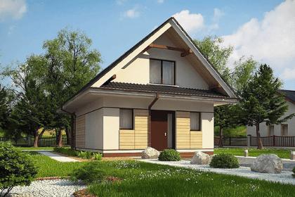 Дом со слепой стеной